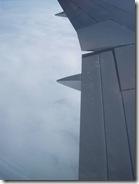 vliegen over Groenland