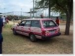 SXSW Softball Tournament car
