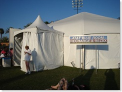 AT&T Tent