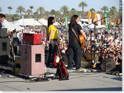 Breeders on stage