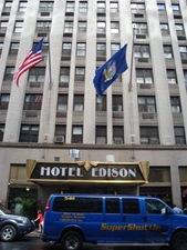 Voorgevel Hotel Edison