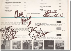 1e album alvin lee signed
