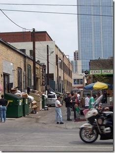 SXSW 2007 backstreet alleys