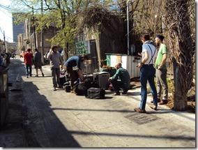 SXSW 2011 backstreet alleys