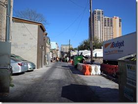 SXSW 2013 backstreet alley