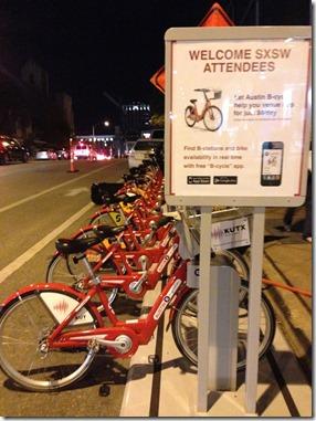 rode fietsenplan