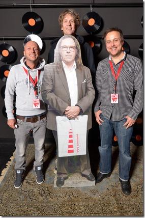 4-12-2014 40 jaar WV gastenboekfotos (25) Ingmar Jahn (DGR), Ben Houdijk (3FM) en