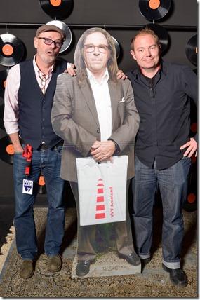 4-12-2014 40 jaar WV gastenboekfotos (37) Frits Heijnraedts (The Office) en Tim Zonne (voorheen Zonne Services; webmaster Interessant)