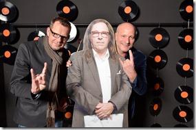 4-12-2014 40 jaar WV gastenboekfotos (42) Ronny Hooch Antink (FAB en Lowlands) en Robert Korstanje (Forta Rock)