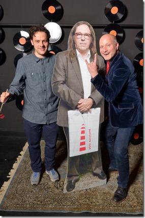 4-12-2014 40 jaar WV gastenboekfotos (43) Robert Meijerink (Doornroosje, Eurosonic) en Robert Korstanje (Fortarock)