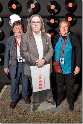 4-12-2014 40 jaar WV gastenboekfotos (76) Willem Schuringa (gepensioneerde neef van) en Mary Schuringa-LeFebre (aangetrouwde nicht van)