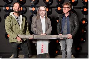 4-12-2014 40 jaar WV gastenboekfotos (94) Joey Ruchtie en Peter Sikkema (De Oosterpoort, Eurosonic, Noorderslag)