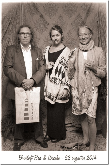 Fam Venema @ bruiloft Ben en Wineke 22-08-2014