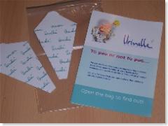 De flyers Urinelles + flyers