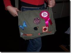 'Popkomm' tas, Germaanse legerpukkel verbouwd tot schooltas