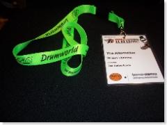 Linyard met badge